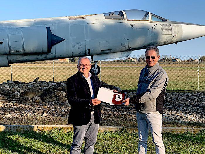 """Il Generale Gianpaolo Miniscalco, direttore generale AeCI, in visita all'Aero Club """"F.Baracca""""di Lugo"""
