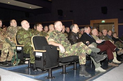 Briefing per Trident Juncture 2015 (foto Joint Forces Command Brunssum)