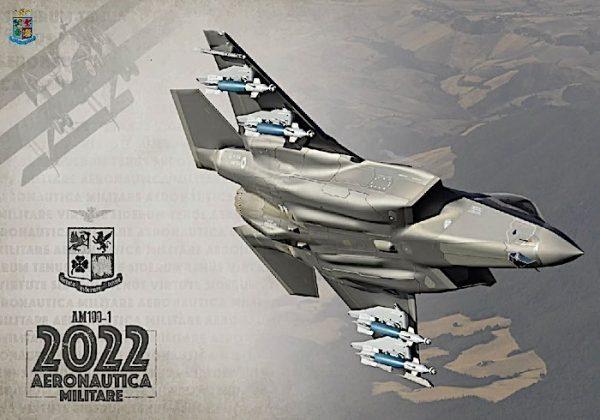 Presentato il Calendario dell'Aeronautica Militare 2022