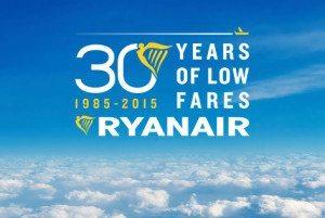 30 anni di prezzi bassi Ryanair