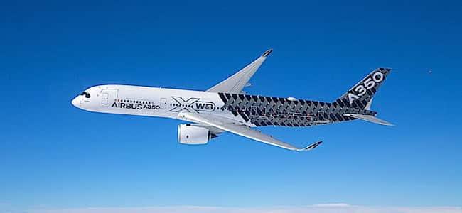 L'Airbus A350 XWB (foto: S. Ramadier - Airbus)