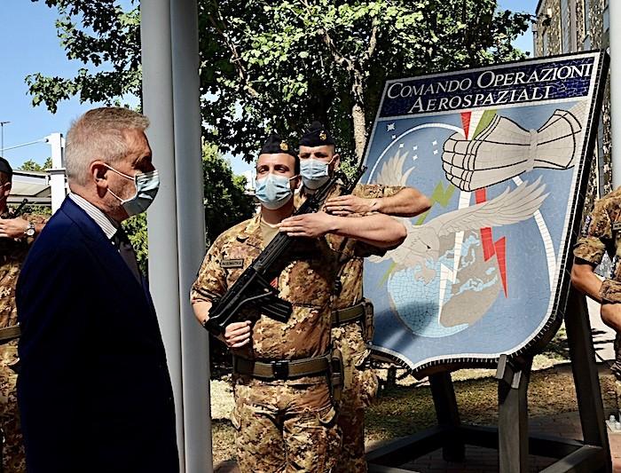 Aeronautica Militare: il Ministro della Difesa Lorenzo Guerini al COA, centro di Comando e Controllo della difesa aerea del Paese