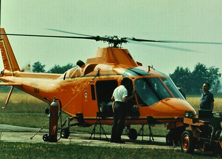 Leonardo ha celebrato il 50esimo anniversario del primo volo dell'elicottero A109