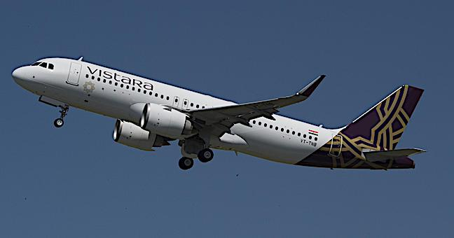 A320neo_VISTARA_foto P. Masclet Airbus take_off