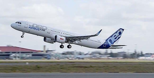 A321 neo (foto Airbus Goussè)