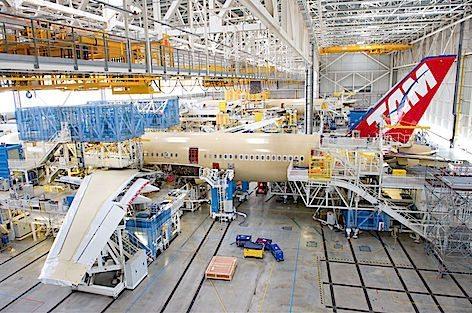 Airbus A350 XWB Tam (foto Airbus - P.Pigeyre)