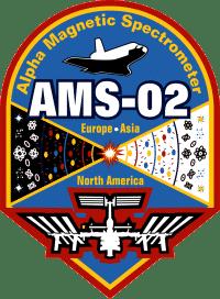 Il logo della missione NASA - Alpha Magnetic Spectrometer - 02 (foto NASA.gov)