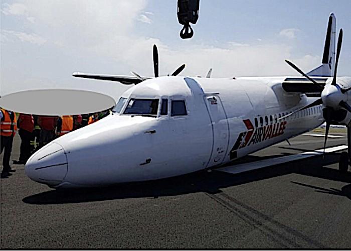 ANSV: Relazione d'inchiesta per incidente al velivolo Fokker F27 MK50 marche SE-LEZ