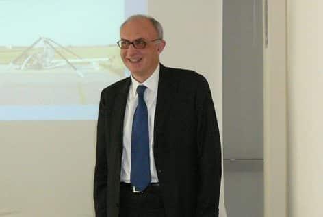 Il prof. Bruno Franchi, presidente dell'Agenzia Nazionale per la Sicurezzaa del Volo (ANSV)