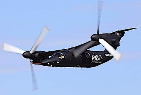 L'AW609 marche N609AG