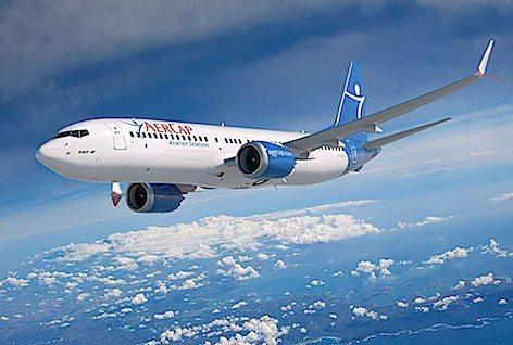 AerCap 737-8 Max (foto Boeing)