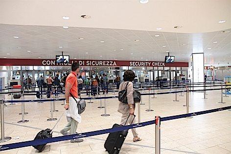 Area Security aeroporto G.Marconi di Bologna (foto archivio Aeroporto G.Marconi)
