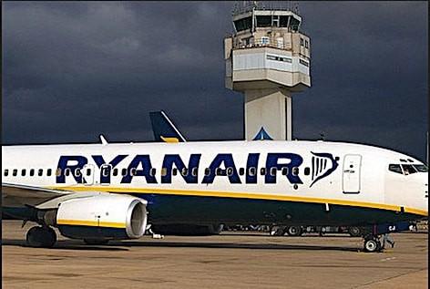 L'aeroporto di Trapani (foto Ryanair)