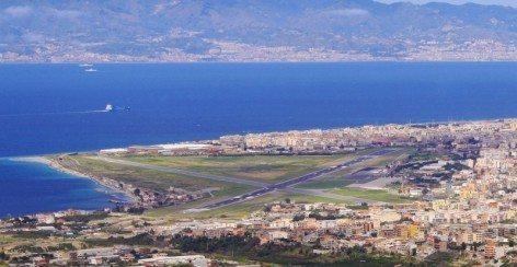 Aeroporto di Reggio Calabria (foto Strettoweb.com)