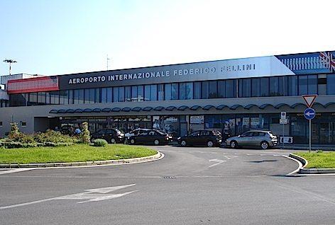 L'aeroporto di Rimini (foto Wikipedia)
