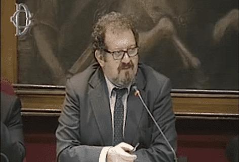 Il Direttore dell'Agenzia Dogane Giuseppe Peleggi  (f.imm. Camera Deputati)