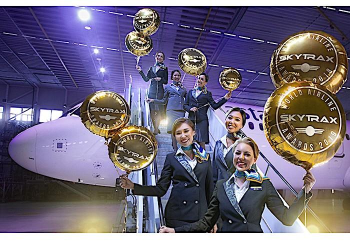 Air Astana riceve 5 stelle da Skytrax per la sicurezza contro la  diffusione del COVID-19