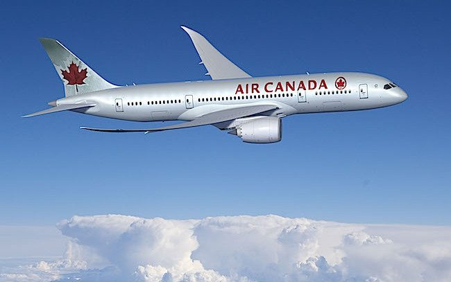 Boeing, Air Canada 787 Dreamliner (foto Boeing)