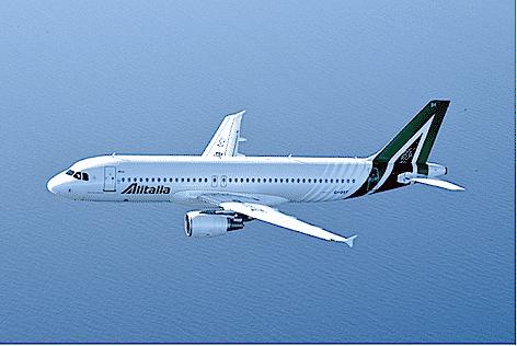 Aribus A320 Alitalia per il medio raggio nuova livrea (foto Alitalia)