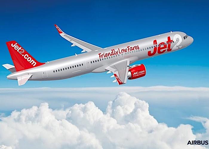Nuovo cliente Airbus: Jet2.com ordina trentasei A321neo