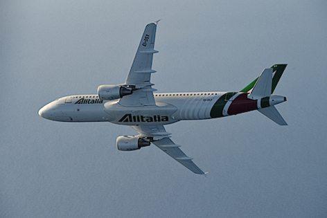 Alitalia A320 (foto Alitalia)