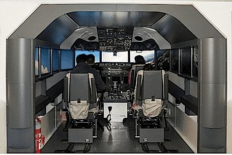 Alitalia Ethiad Simulatore