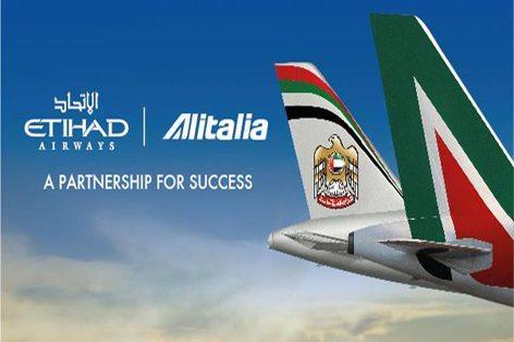 Una partnership per il successo (foto Alitalia - Etihad)