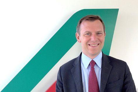 Il nuovo vice direttore Alitalia Nicola Bonacchi (foto Alitalia)