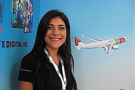 Araci Coimbra, general manager TAP Portugal)