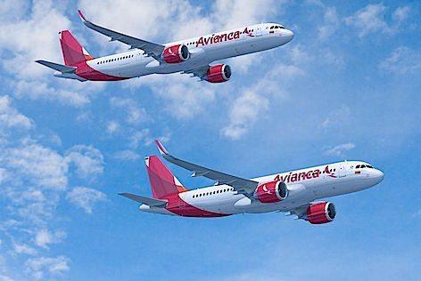 Due Airbus A320neo di Avianca (foto Airbus)