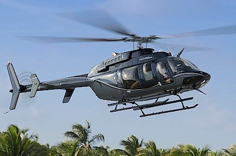 Bell 407GXP in volo (foto Bell Aviation - Textron)