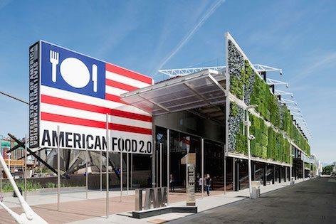 Padiglione Americano dell'EXPO Milano 2015 (foto Boeing)