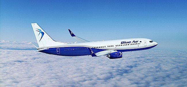 BlueAir Boeing B737-800 (foto repertorio BlueAir)