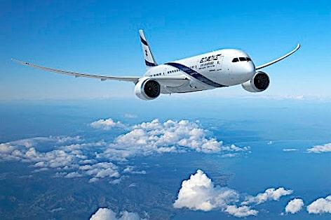 Boein 787 Dreamliner EL-AL-Isreal