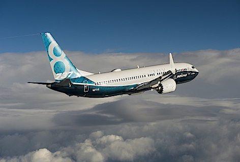 737MAX; 737; Boeing; 737MAX first flight; air to air; K66500-05