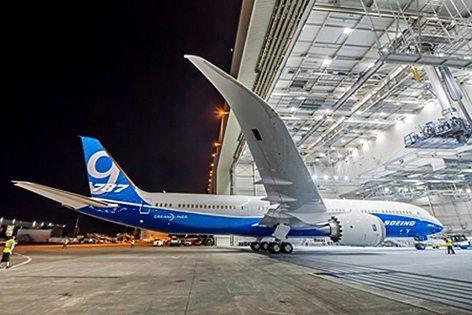 Boeing-787-9-Dreamliner (foto Boeing)