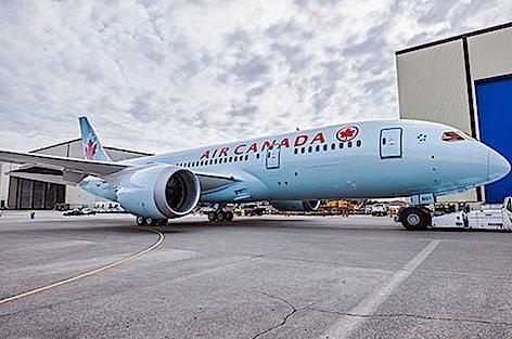 Boeing 787 Dreamliner 900 Air Canada (foto Boeing)