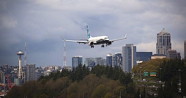 L'atterraggio