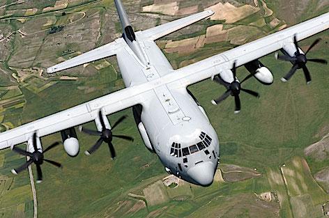 Un C130J Hercules della 46a Brigata Aerea (foto repertorio Aeronautica Militare)