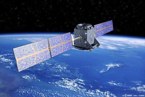 Il satellite Cosmo Skymed (foto Agenzia ESA)