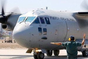 Il C27J Spartan consegnato (foto Finmeccanica-Alenia Aermacchi)
