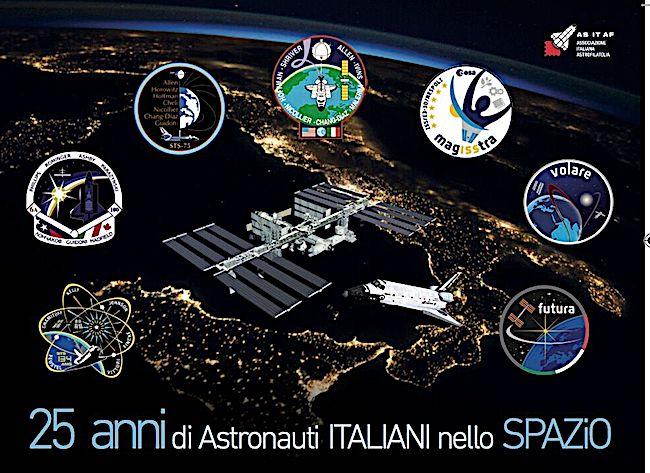 Cartolina - 25AnniAstronautiSpazio_Milano