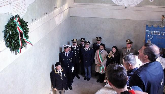 Cerimonia in Rocca con i familiari delle due MOVM lughesi (1)