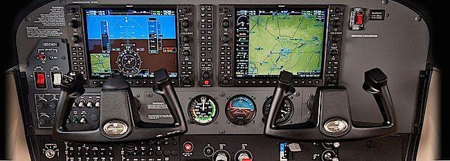 Cessna 172 Skyhawk cockpit img-SE-avionics-SKYHAWK
