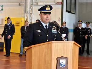 Comandante di Stormo Col. Diego Sismondini