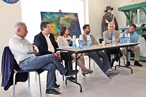 Conferenza stampa di presentazione di Valore Tricolore, Punta Marina Terme, 6 giugno 2017