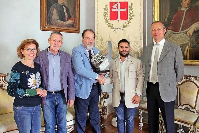 Consegna del premio Baracca al comandante Roberto Bassi, Lugo, 23 maggio 2018 (1) copia