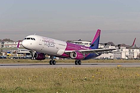 WIZZ Air sigla un contratto per 10 ulteriori aeromobili Airbus A321ceo