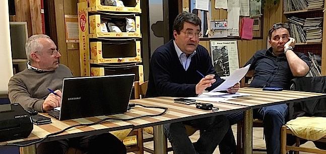 Copia di da sx Oriano Callegati, Giovanni Baracca e Dante Gobbi