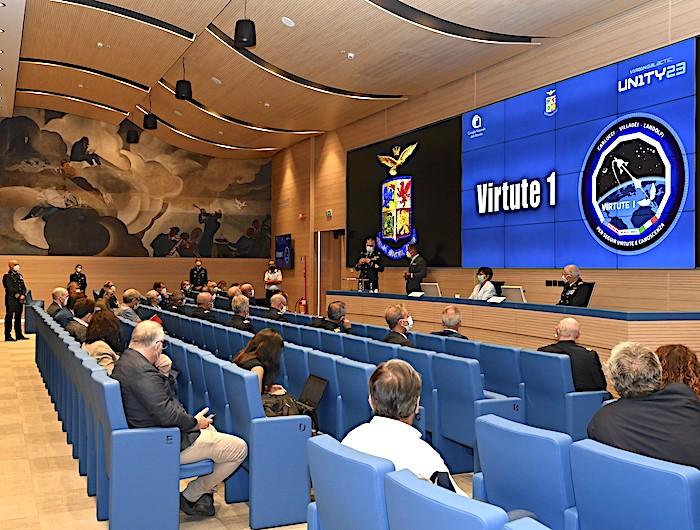 """Annunciata """"VIRTUTE 1"""" la prima missione suborbitale scientifica AM-CNR sul velivolo SpaceshipTwo della Virgin Galactic"""